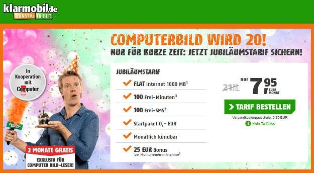 Computer Bild Jubiläumstarif