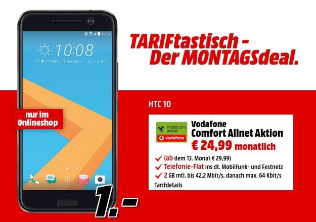 HTC 10 + Vodafone Comfort Allnet (md)
