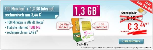 Handybude Dual-SIM Deal