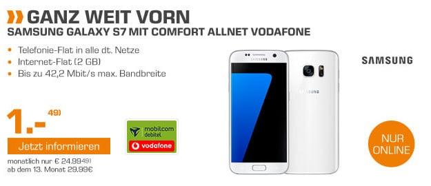 Samsung Galaxy S7 + Comfort Allnet Vodafone (md)