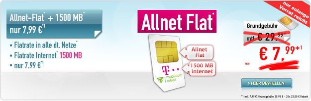 Telekom Comfort Allnet (md) SIM-only