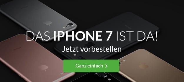 iPhone 7 + Vodafone Smart L DeinHandy