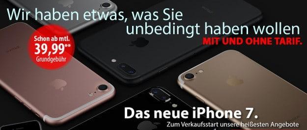 iPhone 7 + Vodafone Smart L