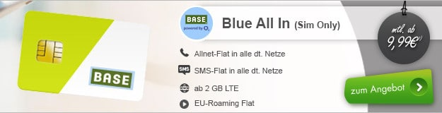 o2 Base Blue All-in M bei modeo