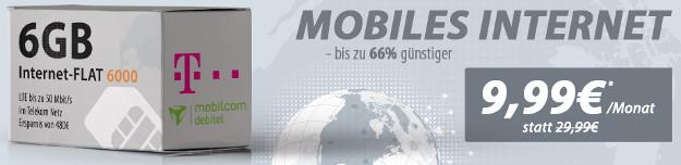 6 GB LTE-Flat D1 Handyflash