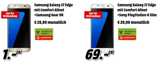 Samsung Galaxy S7 Edge + Vodafone Comfort Allnet (md) MM