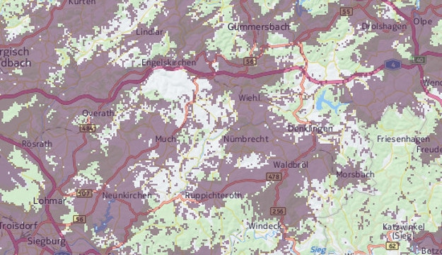 Vodafone-3G-Netz auf dem Land
