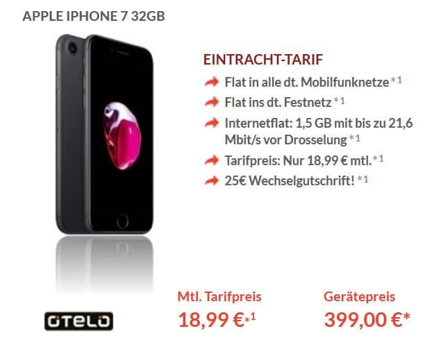 iphone7 eintracht tarif