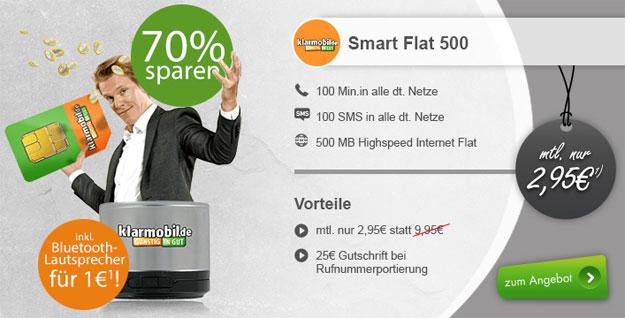 klarmobil Smart Flat 500 - Lautsprecher