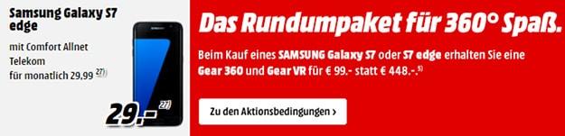 Galaxy S7 + Telekom Comfort Allnet (md)