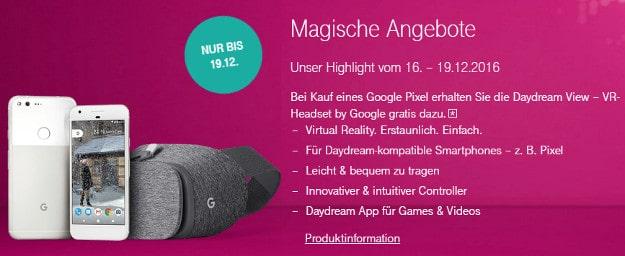 Google Pixel + Telekom Magenta Mobil S
