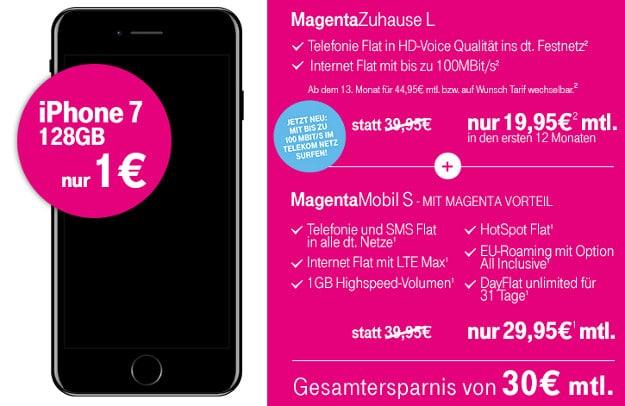 apple iphone 7 telekom magenta mobil s f r eff 27 81 mtl. Black Bedroom Furniture Sets. Home Design Ideas