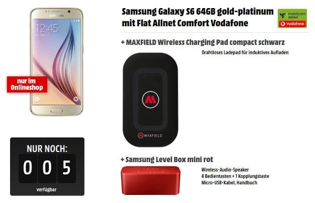 Samsung Galaxy S6 64GB + Flat Allnet Comfort (md)