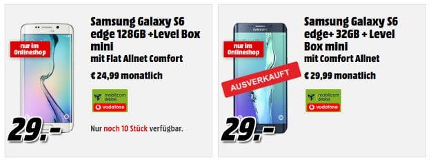 Samsung Galaxy S6 Edge + Vodafone Flat Allnet Comfort (md)