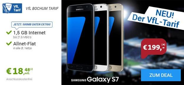 Samsung Galaxy S7 + VfL Bochum Tarif