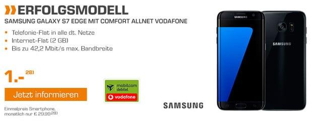 Samsung Galaxy S7 + Vodafone Comfort Allnet (md) Saturn