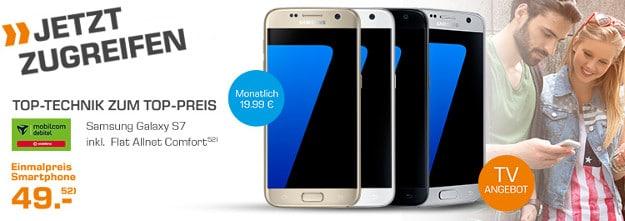Samsung Galaxy S7 + Vodafone Flat Allnet Comfort (md) Saturn