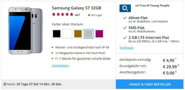 Samsung Galaxy S7 + o2 Free M