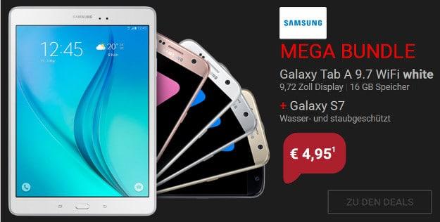 Vodafone Smart L + Samsung Galaxy S7 Mega Bundle