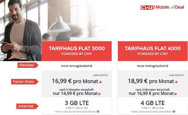 chip mobile Tarifhaus Flat