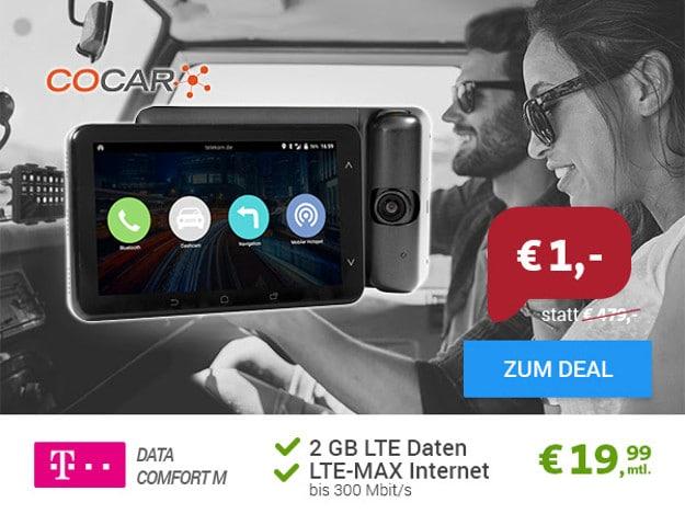 cocar android car phablet telekom data comfort m eff 13. Black Bedroom Furniture Sets. Home Design Ideas