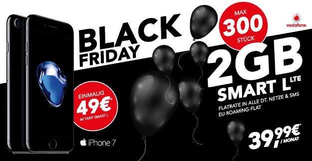 iPhone 7 + Vodafone Smart L Handyflash