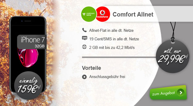 iphone7 comfort allnet modeo