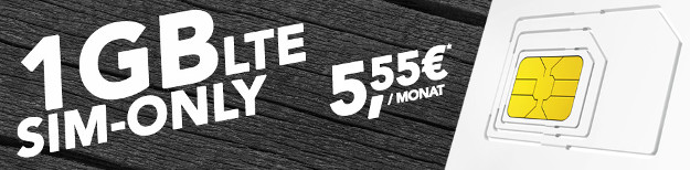 o2 Comfort Allnet LTE für 5,55 €