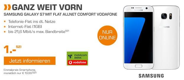 Galaxy S7 + Flat Allnet Comfort