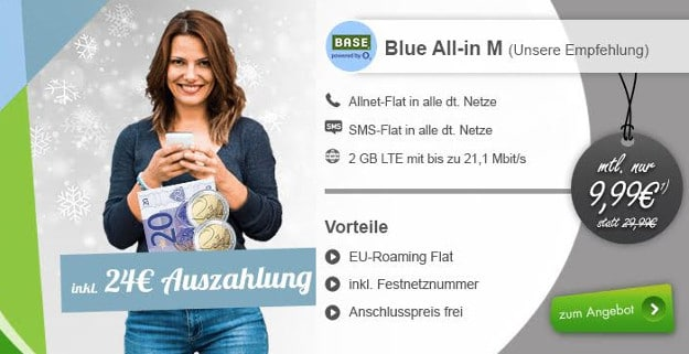 Blue All-in M modeo