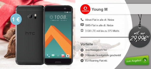 HTC 10 Vodafone Young M