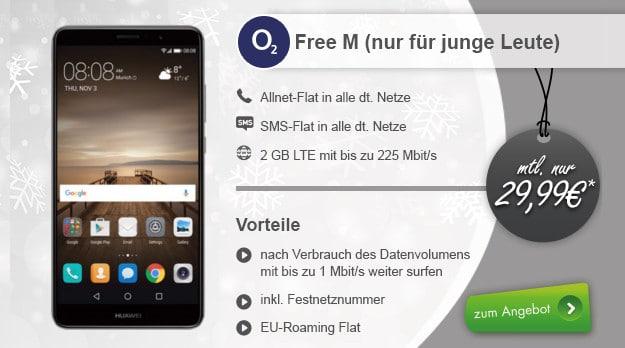 Huawei Mate 9 + o2 Free M