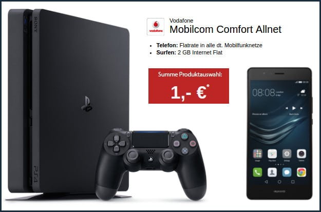 Huawei P9 Lite + Vodafone Comfort Allnet (md)