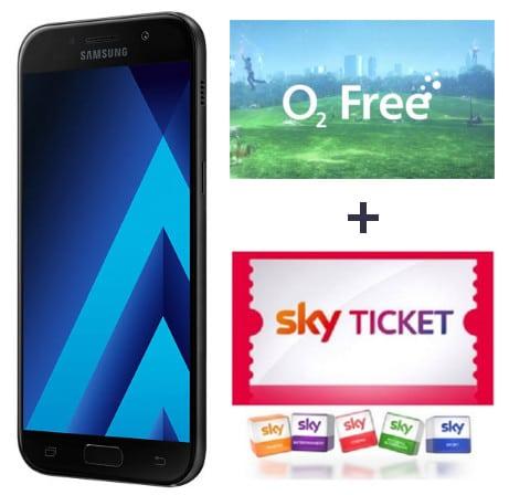 Samsung Galaxy A5 2017 + o2 Free S