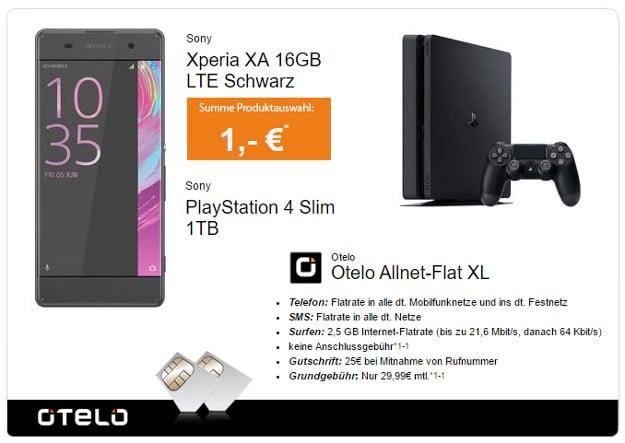 Sony Xperia XA + otelo Allnet-Flat XL