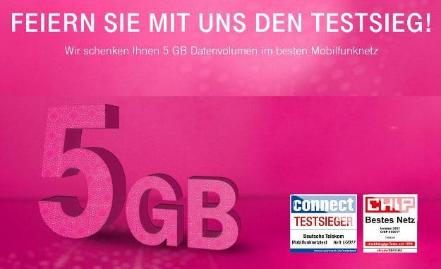 Telekom Testsieg