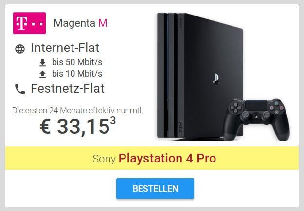 Telekom Zuhause Magenta M PS4 Pro