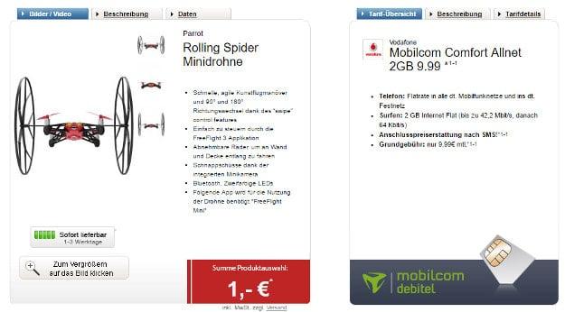 Vodafone Comfort Allnet (md) mit Drohne