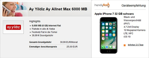 ay yildiz ay allnet max iphone 7