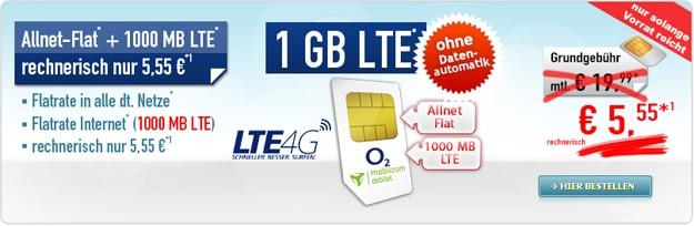 comfort allnet-flat 1000mb 1gb lte