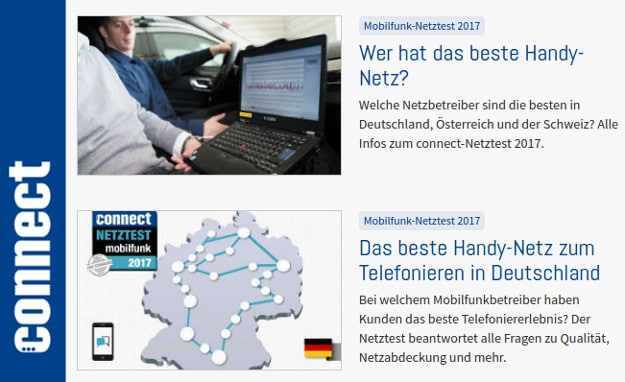 connect Netztest 2017