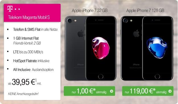 iPhone 7 + Magenta Mobil S Ttw