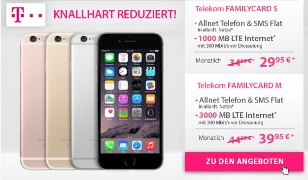 iPhone 7 + Telekom Family Card