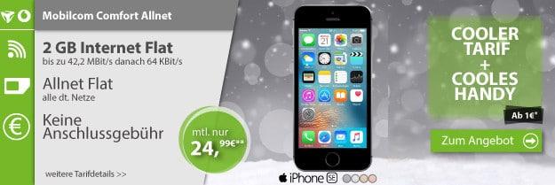 iPhone SE + Vodafone Comfort Allnet (md)