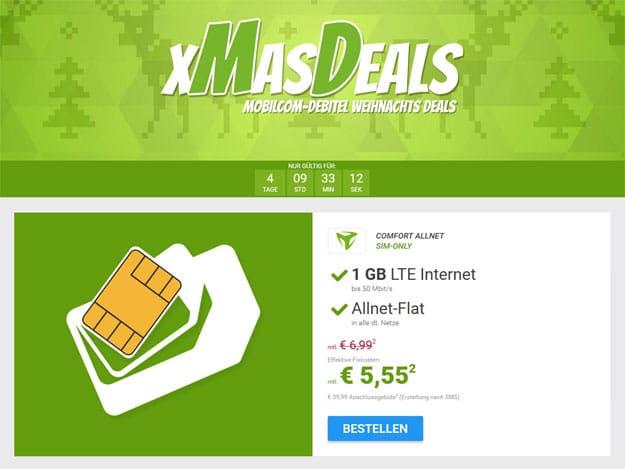 o2 Comfort Allnet - 5,55 EUR