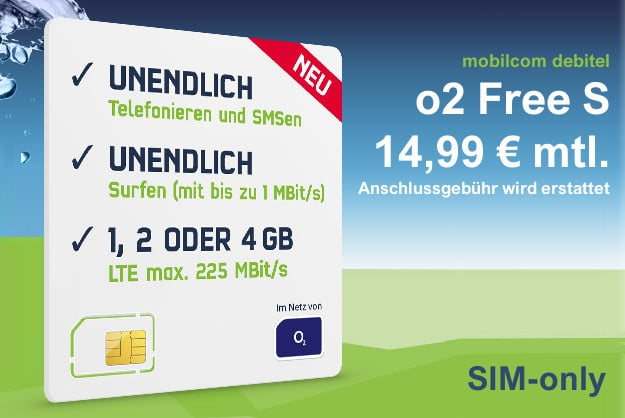 o2 Free S (md) SIM-only