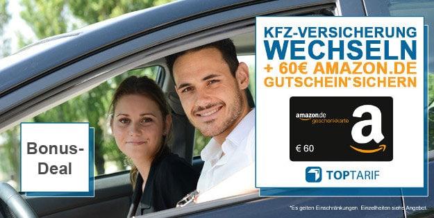 Handyhase Bonus Deal Kfz Versicherung Wechseln 60 Amazon Gutschein