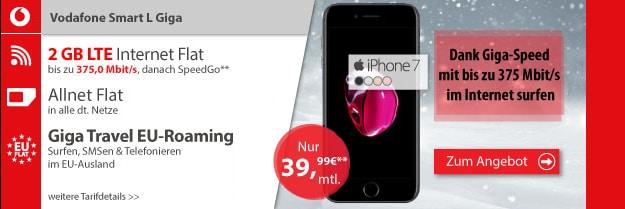 vodafone smart l iphone 7 logitel