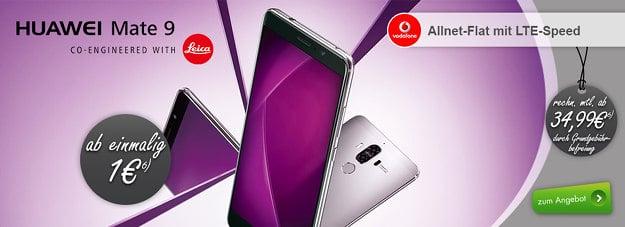 Huawei Mate 9 + Vodafone Young L