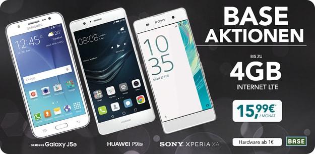 Huawei P9 Lite + BASE Pur